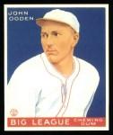1933 Goudey Reprint #176  John Ogden  Front Thumbnail