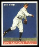 1933 Goudey Reprint #103  Earle Combs  Front Thumbnail