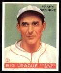 1933 Goudey Reprint #87  Frank O'Rourke  Front Thumbnail