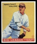 1933 Goudey Reprint #55  Pat Malone  Front Thumbnail