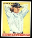 1933 Goudey Reprints #12  George Pipgras  Front Thumbnail