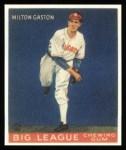 1933 Goudey Reprints #65  Milt Gaston  Front Thumbnail