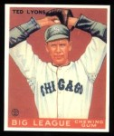 1933 Goudey Reprints #7  Ted Lyons  Front Thumbnail