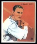 1933 Goudey Reprint #207  Mel Ott  Front Thumbnail