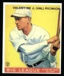 1933 Goudey Reprints #118  Val Picinich  Front Thumbnail