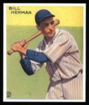 1933 Goudey Reprints #227  Billy Herman  Front Thumbnail