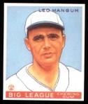1933 Goudey Reprints #162  Leo Mangum  Front Thumbnail