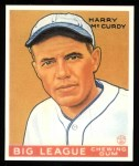 1933 Goudey Reprint #170  Harry McCurdy  Front Thumbnail