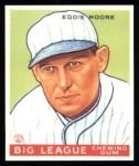 1933 Goudey Reprint #180  Eddie Moore  Front Thumbnail