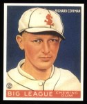 1933 Goudey Reprints #101  Richard Coffman  Front Thumbnail