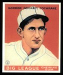 1933 Goudey Reprints #76  Mickey Cochrane  Front Thumbnail