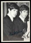 1964 Topps Beatles Black and White #120  Paul McCartney  Front Thumbnail