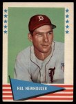 1961 Fleer #66  Hal Newhouser  Front Thumbnail