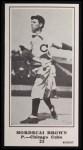 1916 M101-5 Blank Back Reprint #23  Mordecai Brown  Front Thumbnail