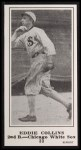 1916 M101-5 Blank Back Reprint #33  Eddie Collins  Front Thumbnail