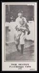 1916 M101-5 Blank Back Reprint #161  Tom Seaton  Front Thumbnail