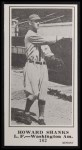 1916 M101-5 Blank Back Reprint #162  Howard Shanks  Front Thumbnail