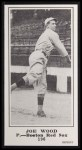 1916 M101-5 Blank Back Reprint #196  Joe Wood  Front Thumbnail