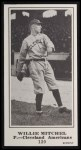 1916 M101-5 Blank Back Reprint #120  Willie Mitchell  Front Thumbnail