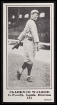 1916 M101-5 Blank Back Reprint #185  Clarence Walker  Front Thumbnail