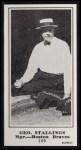 1916 M101-5 Blank Back Reprint #169  Geo. Stallings  Front Thumbnail