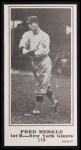 1916 M101-5 Blank Back Reprint #116  Fred Merkle  Front Thumbnail