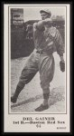 1916 M101-5 Blank Back Reprint #64  Del Gainor  Front Thumbnail