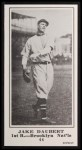 1916 M101-5 Blank Back Reprint #44  Jake Daubert  Front Thumbnail