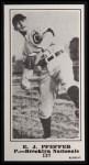 1916 M101-5 Blank Back Reprint #137  E. J. Pfeffer  Front Thumbnail