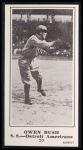 1916 M101-5 Blank Back Reprint #20  Owen J. Bush  Front Thumbnail