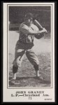 1916 M101-5 Blank Back Reprint #71  Jack Graney  Front Thumbnail