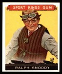 1933 Sport Kings Reprint #25  Ralph Snoddy   Front Thumbnail