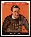 1933 Sport Kings Reprints #9  Ed Blood   Front Thumbnail