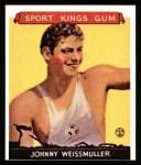 1933 Sport Kings Reprint #21  John Weissmuller   Front Thumbnail