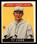 1933 Sport Kings Reprints #1  Ty Cobb   Front Thumbnail