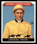 1933 Sport Kings Reprint #13  Laverne Fator   Front Thumbnail