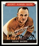 1933 Sport Kings Reprint #19  Eddie Shore   Front Thumbnail