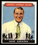 1933 Sport Kings Reprints #22  Gene Sarazen   Front Thumbnail