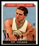 1933 Sport Kings Reprint #3  Nat Holman   Front Thumbnail