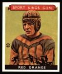 1933 Sport Kings Reprints #4  Red Grange   Front Thumbnail