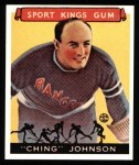 1933 Sport Kings Reprint #30  Ivan Ching Johnson   Front Thumbnail