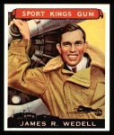 1933 Sport Kings Reprint #26  James Wedell   Front Thumbnail