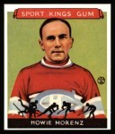 1933 Sport Kings Reprint #24  Howie Morenz   Front Thumbnail