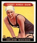 1933 Sport Kings Reprint #37  Helene Madison   Front Thumbnail