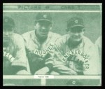 1935 Goudey 4-in-1 Reprint #8 I Joe Vosmik / Bill Knickerbocker / Mel Harder / Lefty Stewart  Back Thumbnail