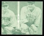 1935 Goudey 4-in-1 Reprints #8 L Al Spohrer / Flint Rhem / Ben Cantwell / Larry Benton  Back Thumbnail
