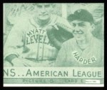 1935 Goudey 4-in-1 Reprint #8 E Jimmy DeShong / Johnny Allen / Red Rolfe / Dixie Walker  Back Thumbnail
