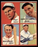 1935 Goudey 4-in-1 Reprints #5 F Tony Piet / Adam Comorosky / Jim Bottomley / Sparky Adams  Front Thumbnail