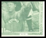 1935 Goudey 4-in-1 Reprint #8 F Pete Fox / Hank Greenberg / Gee Walker / Schoolboy Rowe  Back Thumbnail