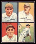 1935 Goudey 4-in-1 Reprint #4 D Bill Dickey / Tony Lazzeri / Pat Malone / Red Ruffing  Front Thumbnail